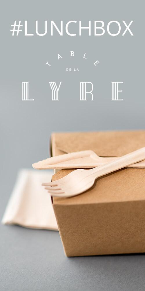 Covid-19 Lunchbox Table de la Lyre