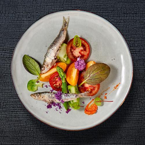 Restaurant à Montpellier - Plat sardine