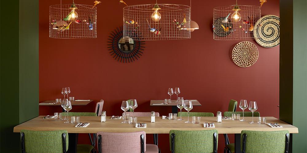 Salle restaurant Montpellier - Table de la Lyre